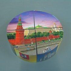 Головоломка-пазл Москва (кругл.) (кор. 200 шт.)