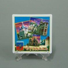 Магнит 3D Суздаль (квадратный) (кор 500 шт., уп. 50 шт.)