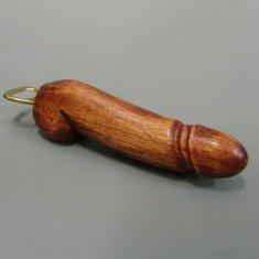 Фаллос-открывалка 20 см.(дерево суар)
