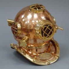 Шлем водолазный 42 см. (латунь)