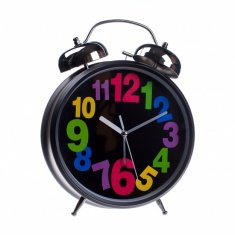 Часы - будильник (цв цифры.) (в ассорт.) 30 см.  d=20 см.