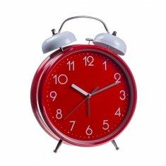Часы будильник (красный) 30 см, d=20 см