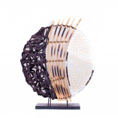 Светильник 35 см.(плафон кругл.) - в ассорт.(металл, мозаика, бамбук)