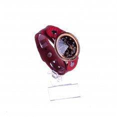 Часы Fashion женские d=4 см. круглые (цвета в ассорт.)