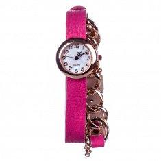 Часы Fashion женские d=2,5 см. круглые (цвета в ассорт.)