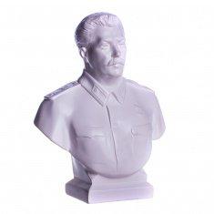"""Статуэтка """"Сталин"""" 16 см. Белый (гипс)"""