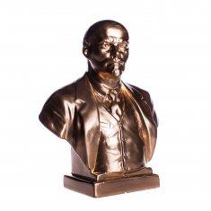 """Статуэтка бюст """"Ленин В. И."""" Бронза 19 см (гипс)"""