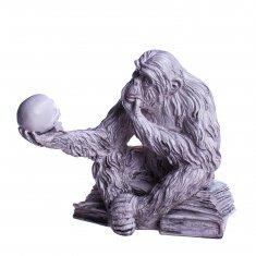 Статуэтка Обезьяна с черепом