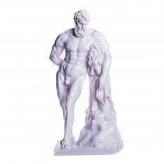 """Статуэтка """"Геракл"""" 25 см Белый (гипс)"""