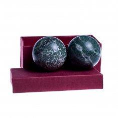 Шары каменные из нефрита