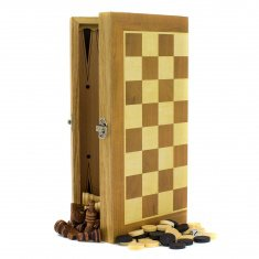 Шахматы-нарды-шашки W3015 30х30 см (кор. 48 шт.)