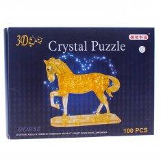 Пазл 3-D Лошадь (цвета в ассортименте)