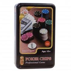 Набор для покера с номиналом (кор. 24 шт.)