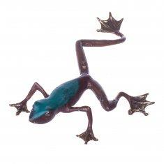 Лягушка h=17 см. (бронза)