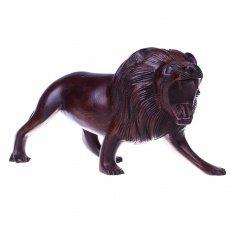 Лев l=25 см.(дерево суар)