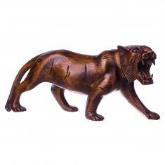 Тигр l=30 см. (дерево суар)