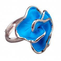 Кольцо разъемное (цвет серебро)