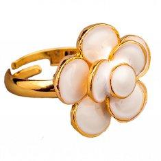 Кольцо разъемное (цвет золото) (размеры:16,17,18,19,20)