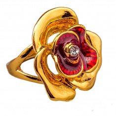 Кольцо (цвет золото) (размеры:16,17,18,19,20)