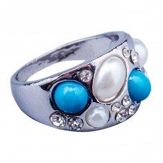 Кольцо (в ассорт.цвет золото, серебро) (размеры:17,18,19)