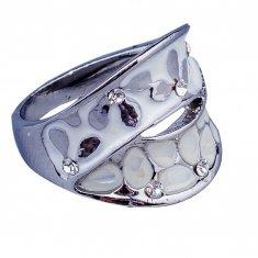 Перстень (цвет серебро) (размеры:16,17,18,19,20)