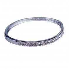 Браслет (цвет серебро) металл