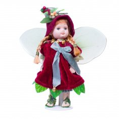 Кукла Лесная Фея 20 см (керам.) (в ассорт.) (кор.48 шт.)