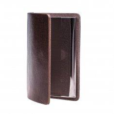 Визитница коричневая (уп. 10 шт., кор. 300 шт.)