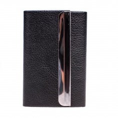 Визитница (цвета в ассорт.-чёрный, коричневый. красный) (кор. 300 шт.)
