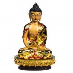 Будда золотой h=30 см. (гипсолит)