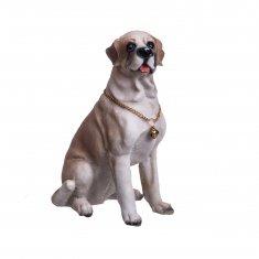 Собака 20см (полистоун)