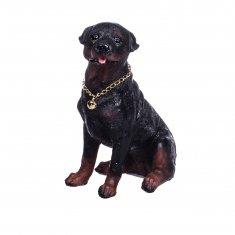 Собака 13 см. (полистоун)