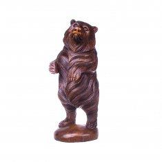 Медведь h=30 см (дерево суар)