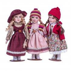 Кукла 30 см.  (керам.) (в ассорт.)