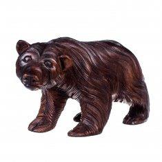 Медведь l=25 см в ассорт. (дерево суар)