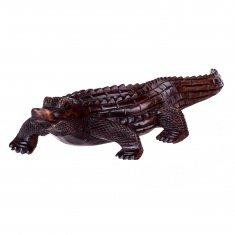 Крокодил l=30 см.(дерево суар)