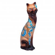 Кошка Гейша сиамская 42 см (керамика)