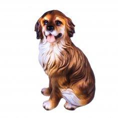 Садовая фигура Собака h=52 см. (полистоун)