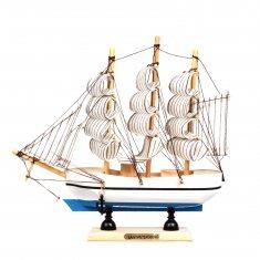 Корабль 20 см. (цвета в ассорт.) (кор. 72 шт.)