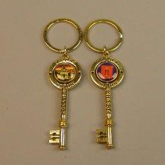 Брелок-ключик Углич (цвет-золото) (уп. 12 шт.)