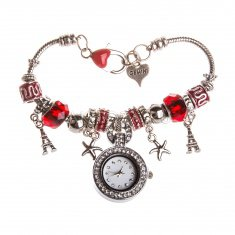 Часы наручные женские d=2,5 см. круглые (в ассорт.)