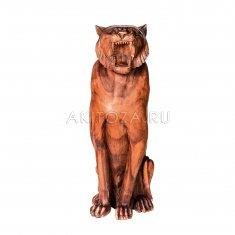 Тигр 80 см (дерево суар)