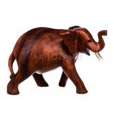 Слон  20 см.(дерево суар)