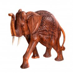 Слон h=100 см. (дерево суар)