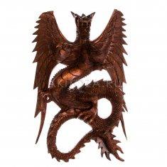 Дракон h=30 см. подвес. (дерево суар)