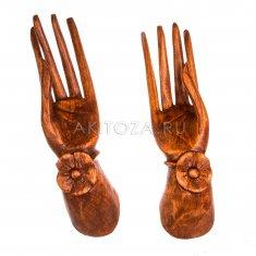 Руки 25 см. (2 шт.) (дерево суар)