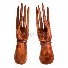 Руки (набор 2 шт.) 25 см.(дерево суар)