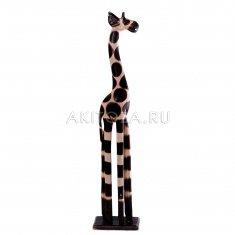 Жираф  h=80 см. (дерево)