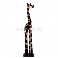 Жираф h=100 см. (тонированное дерево)