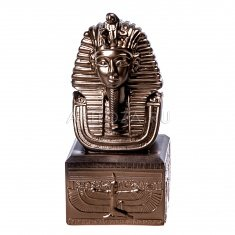 "Статуэтка ""Маска фараона"" 15 см. Бронза (гипс)"